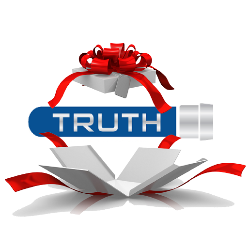 Truth logo in present